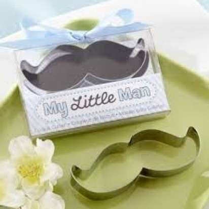 My Little Man Cookie Cutter Baby Shower Gift
