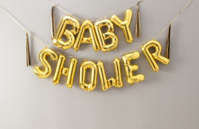 "16"" BABY SHOWER Balloon Banner"