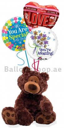 (Gund) You are Amazing, Valentine's Day Balloons