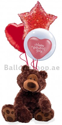 (Gund) Love is Red, Valentine's Day Balloons