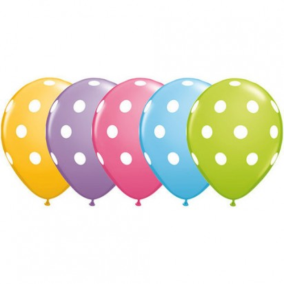 Polka Dots Assorted (Set of 5)