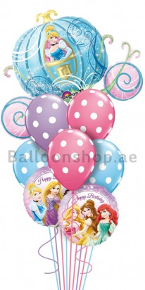 Ultra Jumbo Princess, Cinderella Carriage Balloon Arrangement