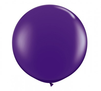 3' Quartz Purple Large Helium Balloon (90cm)