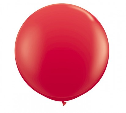3' Red Large Helium Balloon  (90cm)
