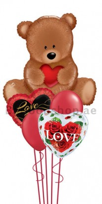 Special Love Valentines Jumbo Balloon Bouquet