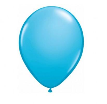 "11"" Robins Egg Plain Helium Latex Balloon"