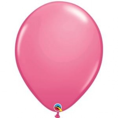 "16"" Rose Pink Big Helium Latex Balloon"