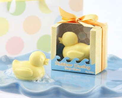 Rubber Ducky Soap Shower Gift Item 9.5 X 5.4 X 5.2 inches