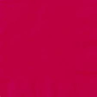 """13"""" Ruby Red Luncheon Napkin (16ct, 2 ply)"""