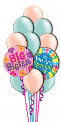 To My Special Sister Helium Balloon Bouqet