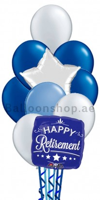 Happy Retirement Balloon Bouquet