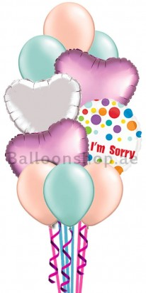 I am sorry Heart Felt Balloon Bouquet