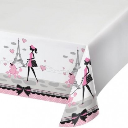 Party in Paris Table cover