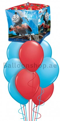 Thomas Birthday (True Blue) Balloon Bouquet