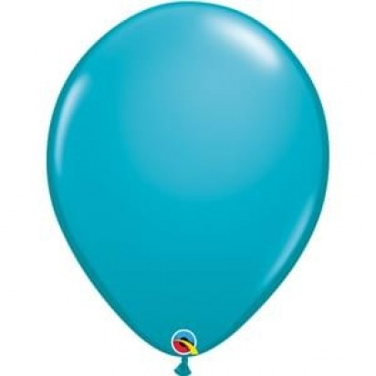 "16"" Tropical Teal Big Helium Latex Balloon"