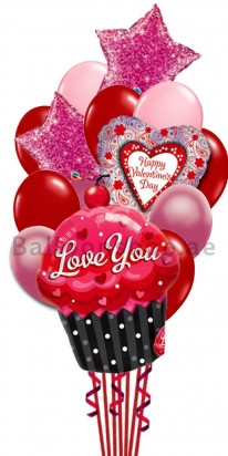 Mega Jumbo Ultimate Valentine's Day Balloon Arrangement