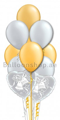 You Can Ring Wedding Bells Balloon Bouquet
