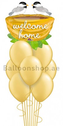You Belong Here Welcome Home Balloon Bouquet