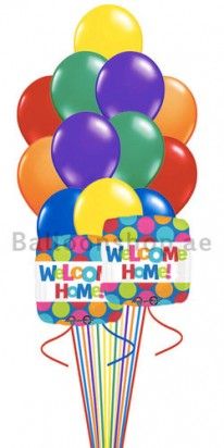 (14 Balloons) Welcome Home Balloon Bouquet