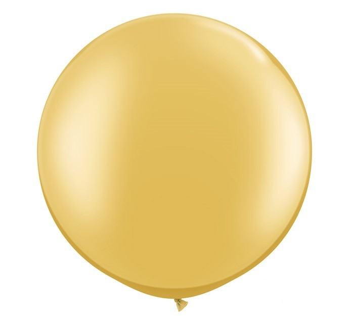 3ft. Gold Large Helium Balloon (90 cm)