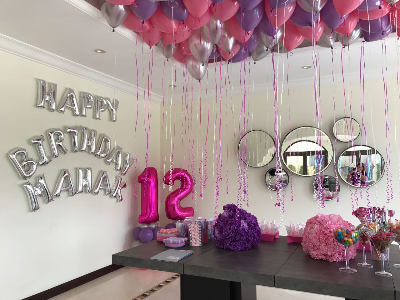 Amazing Birthday Balloon Decorations In Dubai Abu Dhabi Sharjah